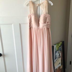 Women's Bridesmaid Dress David's Bridal Petal Pink